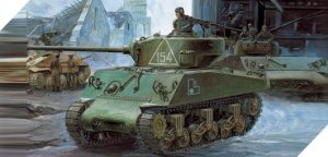 ACADEMY 13010 - 1:35 M4A2 Sherman Russian Army