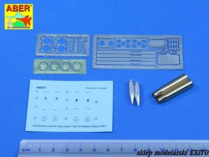ABER 16075A - 1:16 Pz.Kpfw.IV Ausf H/J vol.16A - Ammo stowage rack type A for long rounds