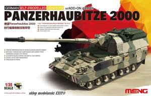 MENG MODEL TS019 - 1:35 Panzerhaubitze 2000 w/ Add-on armor