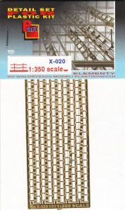 PART X020 - 1:350 Railing  (bend lines)