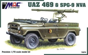 MAC 72075 - 1:72 UAZ 469 with SPG-9 NVA