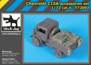BLACK DOG T72097 - 1:72 Chevrolet C15A accessories set