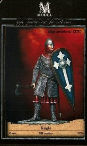 M-MODEL 32026 - 54 mm - Norman Knight XII Century