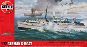 AIRFIX 10280 - 1:72 German S-Boat