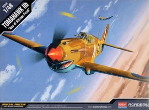 ACADEMY 12235 - 1:48 Curtiss P-40C Tomahawk IIb - Ace of African Front
