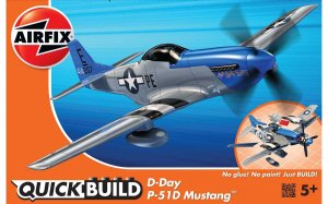 AIRFIX J6046 - D-Day P-51D Mustang - Quick Build