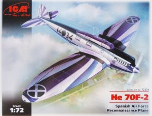 ICM 72231 - 1:72 He 70F-2 Spanish Air Force Reconnaissance Plane