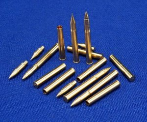 RB MODEL 35P08 - 1:35 Ammunition 76,2mm L/55 M1 for M4A1(76)W, M4A2(76)W, M4A3(76)W