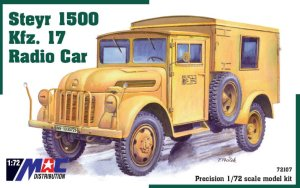 MAC 72107 - 1:72 Steyr 1500 Kfz.17 Radio Car