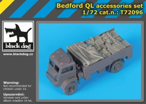 BLACK DOG T72096 - 1:72 Bedford QL accessories set