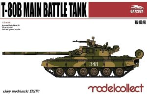 MODELCOLLECT UA72024 - 1:72 T-80B Main Battle Tank