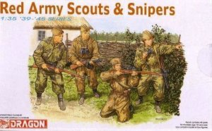 DRAGON 6068 - 1:35 Red Army Scouts & Snipers