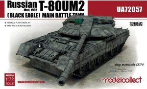 MODELCOLLECT UA72057 - 1:72 Russian T-80UM2 Black Eagle MBT