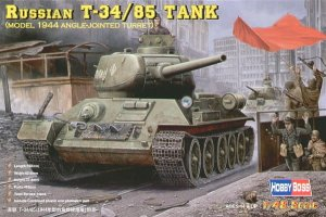 HOBBY BOSS 84809 - 1:48 Russian T-34/85 (model 1944 angle-jointed turret) Tank