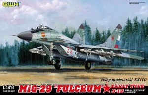 GREAT WALL HOBBY 4814 - 1:48 MiG-29 Fulcrum 9-12 Early Type