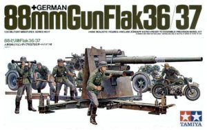 TAMIYA 35017 - 1:35 German 88mm Gun Flak 36/37