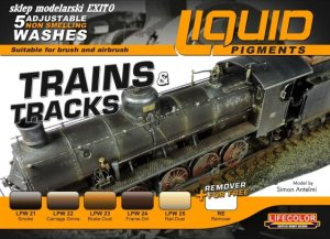 LIFECOLOR LP 05 - Liquid Pigments - Trains & Tracks