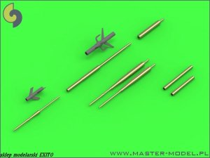 MASTER 72-106 - 1:72 Su-17, Su-20, Su-22 (Fitter) - Pitot Tubes (optional parts for all versions) and 30mm gun barrels