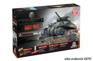 ITALERI 36503 - 1:35 World of Tanks - M4 Sherman