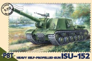 PST 72004 - 1:72 ISU-152 Heavy Self-propelled Gun