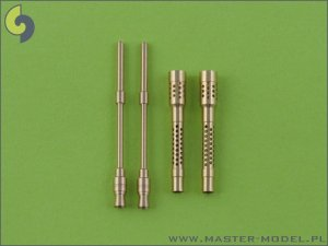MASTER AM-32-003 - 1:32 German aircraft machine gun MG-131 barrels (2pcs)