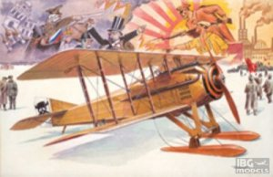 RODEN 617 - 1:32 Spad VII c.1 with Russian skies