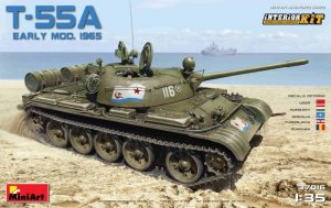 MINIART 37016 - 1:35 T-55A Early Mod. 1965 w/ Interior
