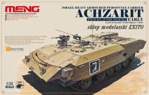 MENG MODEL SS003 - 1:35 Achzarit - Israel Heavy Armoured Personnel Carrier (early)