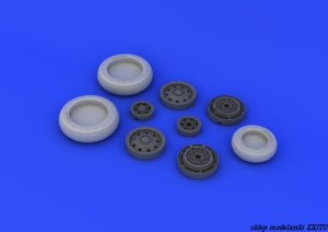 EDUARD 632045 - 1:32 F-104 undercarriage wheels early