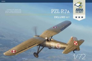 ARMA HOBBY 70005 - 1:72 PZL P.7a - Deluxe Set