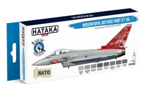 HATAKA BS52 - Modern Royal Air Force paint set vol. 1