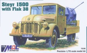 MAC 72106 - 1:72 Steyr 1500 with Flak 38