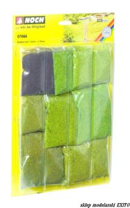 NOCH 07066 - Grass Fibres Assortment - short ( 1,5 mm , 2,5 mm )