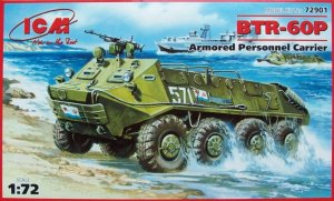 ICM 72901 - 1:72 BTR-60P, Armored Personnel Carrier