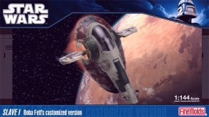 FINE MOLDS SW-14 - 1:144 Slave I Boba Fett's customize version