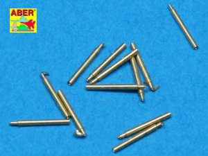 ABER 1:700L-10  - 1:700 Set of 12 pcs 140 mm barrels for ship Hood