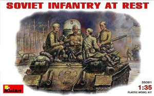 MINIART 35001 - 1:35 Soviet Infantry At Rest