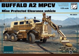 PANDA 35031 - 1:35 Buffalo A2 MPCV Mine Protected Clearance vehicle