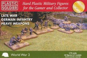 PLASTIC SOLDIER 20005 - 1:72 Late War German Infantry Heavy Weapons
