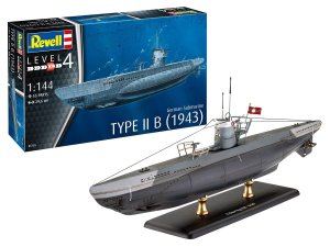 REVELL 05155- 1:144 German Submarine Type IIB (1943)