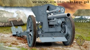 ACE 72216 - 1:72 German le FH18 10,5 cm Field Howitzer