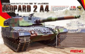 MENG MODEL TS016 - 1:35 German Main Battle Tank Leopard 2 A4