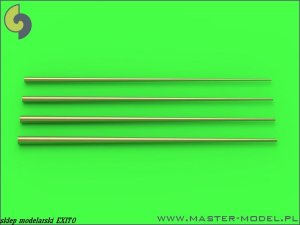 MASTER 700-048 - 1:700 Set of universal tapered masts No2 (length = 60mm each, diameters = 0,4/1,4mm; 0,5/1,6mm; 0,6/1,8mm; 0,7/2mm)