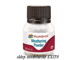 HUMBROL AV0002 - Pigment Weathering Powder White  28 ml