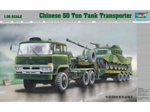 TRUMPETER 00201 - 1:35 Chinese 50t Tank Transporter