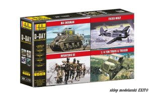 HELLER 53008 - 1:72 D-Day Exclusive Set
