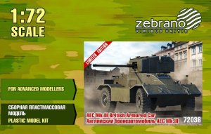 ZEBRANO 72036 - 1:72 AEC Mk.III British Armored car