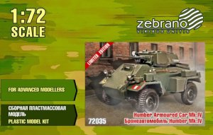 ZEBRANO 72035 - 1:72 Humber Armored Car Mk.IV