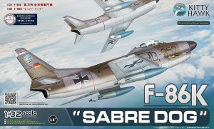 KITTY HAWK 32008 - 1:32 F-86K Sabre Dog