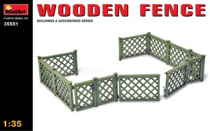 MINIART 35551 - 1:35 Wooden Fence